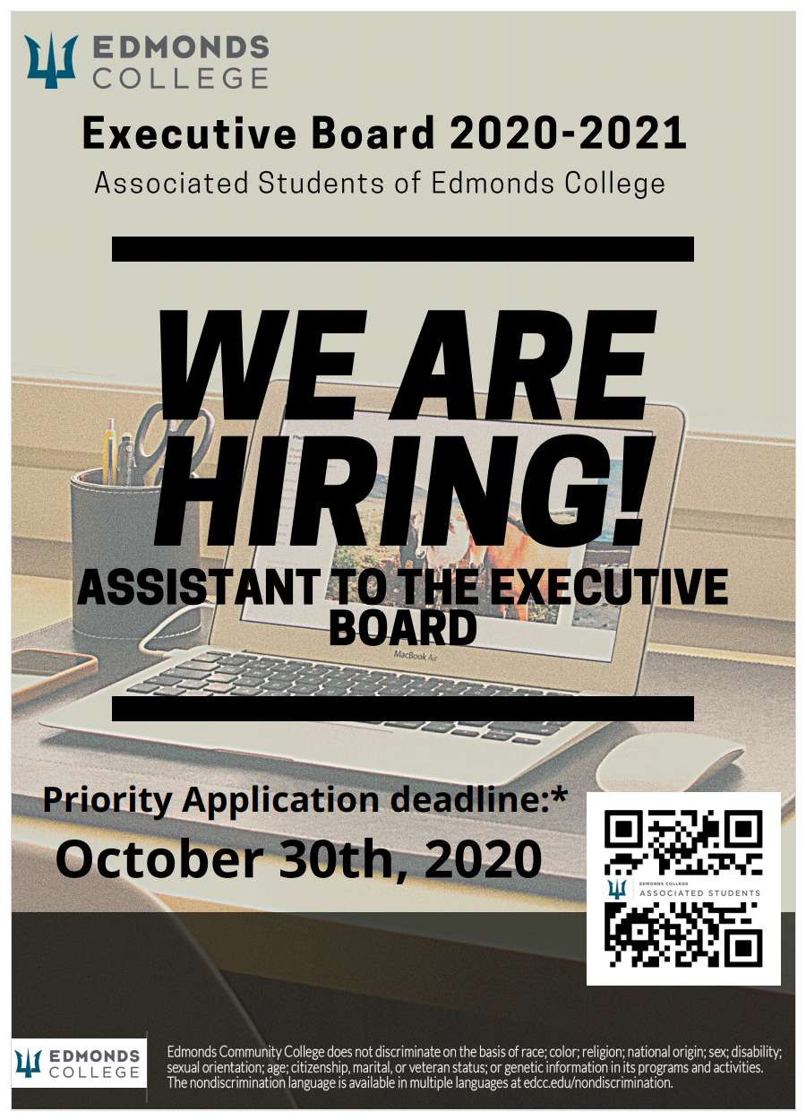 Assistant hiring poster