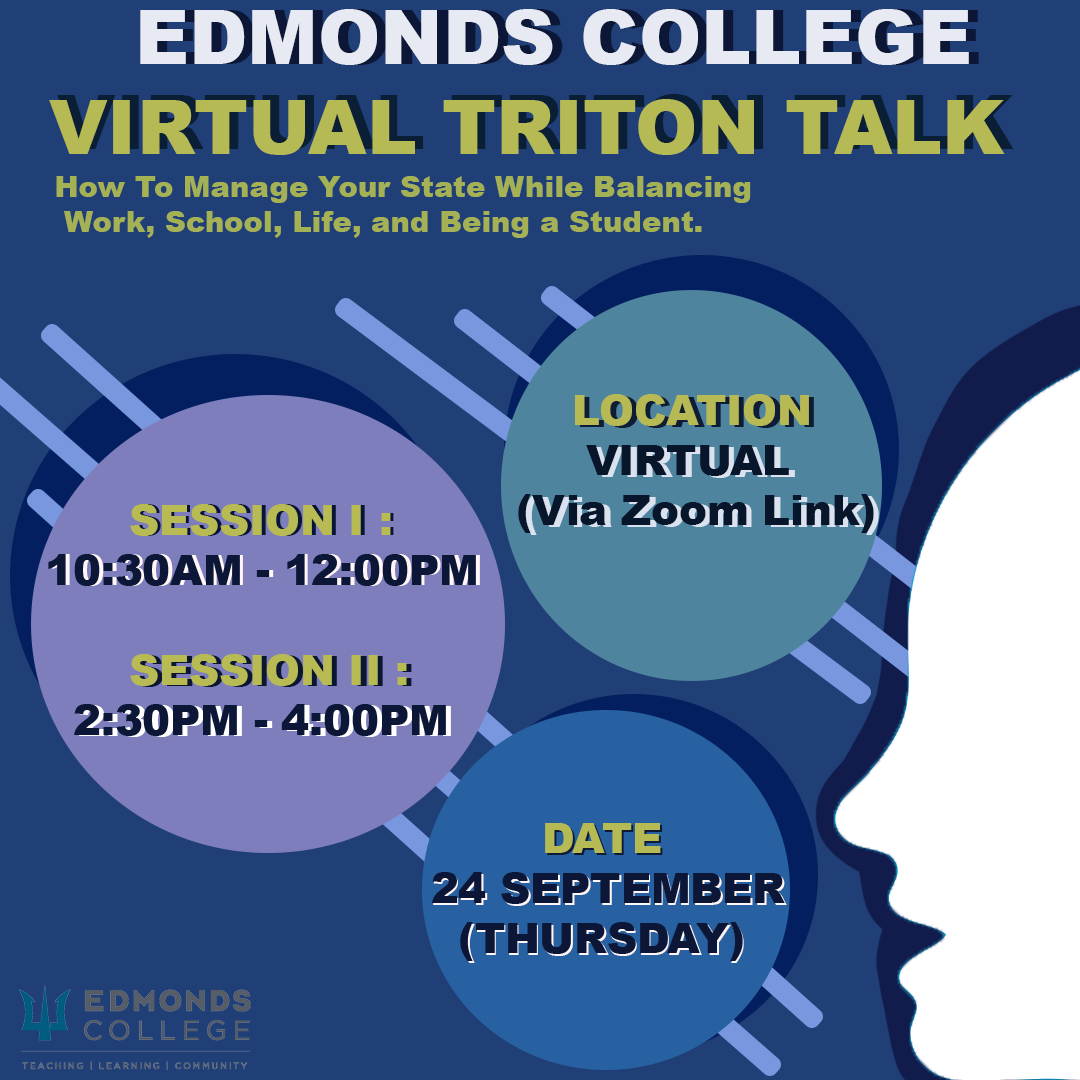 virtual triton talk poster number one